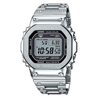 ▶$1 Shop Coupon◀  Casio G-Shock GMW-B5000D-1 Connected Tough Solar Stainless Steel Watch GMWB5000D-1