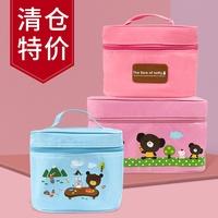 摩卡和露絲保溫包便當包大容量飯盒包餐盤袋加厚餐包可平放餐盤