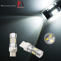 【PA LED】T20 7443 7440 21晶 2835 SMD LED 白光 高亮度 日行燈 倒車燈 煞車燈