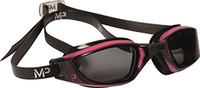 Direct from Germany -  Michael Phelps by Aqua Sphere - Damen Wettkampf-Schwimmbrille Xceed - Pink/Sc