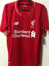 15/16 Liverpool Home Football Jersey