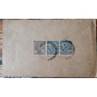 PINNANG - KLANG    BRITISH INDIA POSTAL COVER STATIONERY GORGE  Stamps - bt12