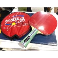 (羽球世家) Crack 德國 克拉克 桌球拍 刀板碳纖休閒拍乒乓球  五木夾板 適合初學、中階 與V5同等