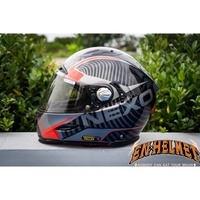 『EN安全帽』德國 NEXO安全帽 黑紅 ZS-1800A 代理 輕量化 限量款