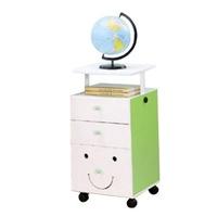 創意小天才 - 【第四代創意小天才】 MORE FUN可升降三抽櫃-清新綠