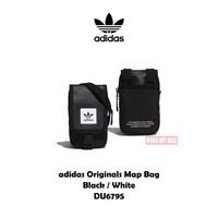 adidas Originals Map Bag 黑白 證件包 側背包 單肩 小包 防潑水 DU6795