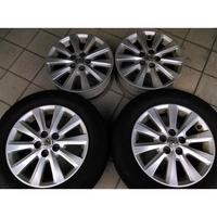 豐田 WISH原廠 5孔100 15吋鋁圈含輪胎 NEW ALTIS PREMIO EXSIOR