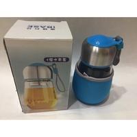 品茗玻璃杯 企鵝瓶 450ml  1入(附潛水布套)-股東會紀念品