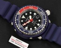"""นาฬิกา SEIKO Prospex Solar Diver's 200m. """"Tuna Case"""" PADI Special Edition รุ่น SNE499P1"""