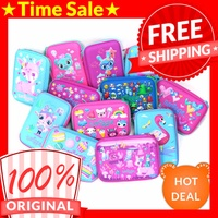 🔥TIME SALE🔥[Authentic] Smiggle Hardtop Pencil Case★With Smiggle Plastic Carrier★Embossed Designs