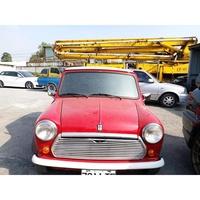 Mini 手排車【正牌】 $18.8萬 #運動版手排都市小跑車 #廠型:AUSTIN MINI 紅白色