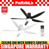 KDK U60FW Ceiling Fan with DC Motor with Remote Control (150cm) - Singapore Warranty