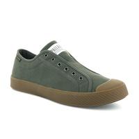 PALLADIUM PALLAPHOENIX OG SLIP ON CVS 無綁帶 帆布鞋-墨綠(75922-625)