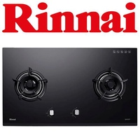 RINNAI RB-92G 2-BURNER TEMPERED GLASS HOB