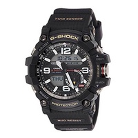 CASIO G-SHOCK MUDMASTER ANALOG-DIGITAL GG-1000-1ADR BLACK MENS WATCH