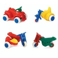 瑞典Viking Toys維京玩具-摩托車2入組(款式隨機)