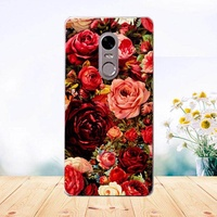 Painted Colored Tiger Owl Rose Soft Tpu Phone Case For TP-Link Neffos X1 Lite Full Cover For TP-Link Neffos X1Lite Fundas Capa