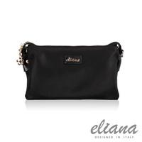 eliana - Gina系列輕量兩用手拿包(摩登黑)EN129S05BK