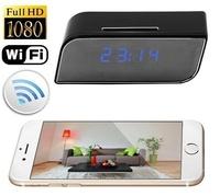 【保固一年 WIFI超高清】1080P 針孔 電子時鐘 網路 無線 監控 遠程 遠端 手機 /針孔攝影機/監聽器/竊聽器