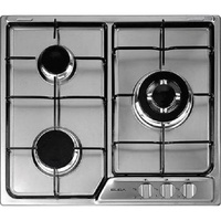 9.10 Sales!ELBA EHS635SB 60cm 3 Burner Built-In Gas Hob with Stainless Steel Top