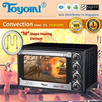 TOYOMI Convection Oven 35.0L [Model: TO 3533RC] - Official TOYOMI Warranty Set. 1 Year Warranty.