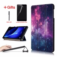 Slim Magnetic Folding cover case for Samsung Galaxy Tab A6 10.1 2016 SM-T580 SM-T585 cover for Samsung Galaxy Tab A 10.1 case