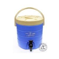 【蓋瑞A店】【牛88】飲料店必備13L冷熱保溫桶/保冷茶桶/綠茶桶/茶壺(藍色)
