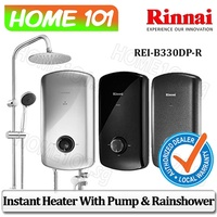 Rinnai Electric Instant Water Heater With Crystal Series [Multi Model]