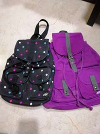 smiggle backpack x2