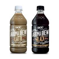 【日本UCC】AROMA BREW艾洛瑪 525ml- 拿鐵 / 黑咖啡 (1入/3入) 露營飲料  野外糧食 野餐飲料