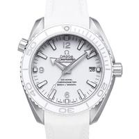 OMEGA 歐米茄 海馬 Planet Ocean 600米潛水機械錶-白/42mm