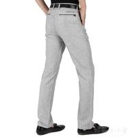 長褲亞麻褲男 夏季薄款寬鬆棉麻褲子 男士冰絲休閒褲男 中年直筒長褲 好再來小屋