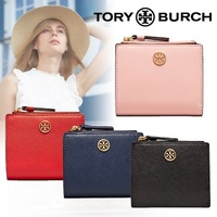 COSPA festival special price !!! TORY BURCH ☆ ROBINSON MINI WALLET ト リ ー Tory Burch Folded wallet Mini wallet Cute Limited SALE! As soon as possible ♪ ♪