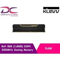 Klevv Bolt 8GB (1x8GB) DDR4 3000MHz Gaming Memory