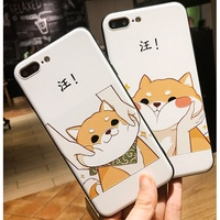 【H.T】iPhone7/8/7plus/8plus托臉柴犬&捏臉柴犬 手機殼
