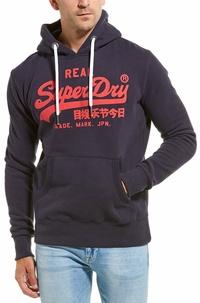 Superdry Mens  Vintage Logo Hoodie
