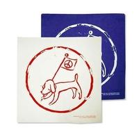 奈良美智 Yoshitomo Nara 狗狗 反戰 掛布旗 日本限定  便當布 裝飾 小狗