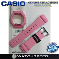 Original Replacement Band and Bezel for Casio G-Shock For DW-5600LR-4/DW5600LR-4