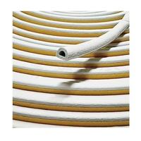 D型氣密條 白色 隔音條 防撞條 門縫條 門邊條 消音條 門窗密封條 長度單位-尺(303mm)