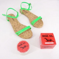 現貨-貂油涼鞋組合 日本進口 COLUMBUS Mink Oil 保養油 貂油 皮革 皮包 皮件 保養 女人我最大推薦