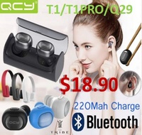Xiaomi QCY T1/T1Pro/ Q29  Wireless Earphones Bluetooth Earphones 3D Stereo Sound Earbuds Best Chirst