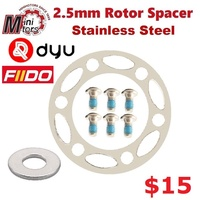 Rotor Spacer 44mm BCD (bolt circle diameter) for MiniMotors, DYU. Fiido. AM. TEMPLE.
