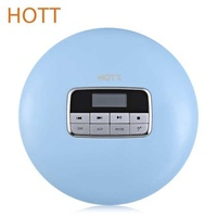 HOTT CD511 CD Player Portable With Stereo Earbuds US Plug