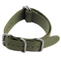 Nylon Watch Band Strap For Garmin Fenix 3  Colour:Green (Nylon)