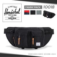 《熊熊先生》Herschel 時尚運動腰包Eighteen Hip Bag 輕量帆布單肩包 休閒包 斜背包 10018 可調式插扣腰帶