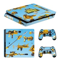 Fortnite Stickers For PS4 Slim Console Skin Cover Controller Sticker Fortnite Battle Roy