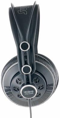 Superlux HD-681B/HD681B半開放式專業監聽耳罩式耳機,公司貨,原廠保固一年