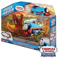 費雪 湯瑪士小火車 THOMAS & FRIENDS 電動系列-競速過彎軌道遊戲組 軌道車