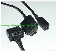 Original SONY Sony MD2 MD2-HDMI cable DC power adapter cable HD TV cable 50CM-Digital gram