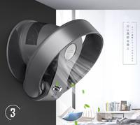 台灣現貨 110V無葉風扇 sk無葉風扇家用超靜音台式電風扇壁掛無葉風扇